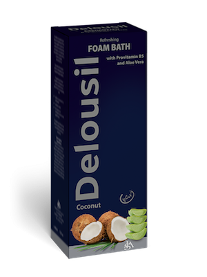 Delousil Refreshing Foam Bath Αναζωογονητικό Αφρόλουτρο Καρύδα με Προβιταμίνη Β5 & Αλόη by Delousil