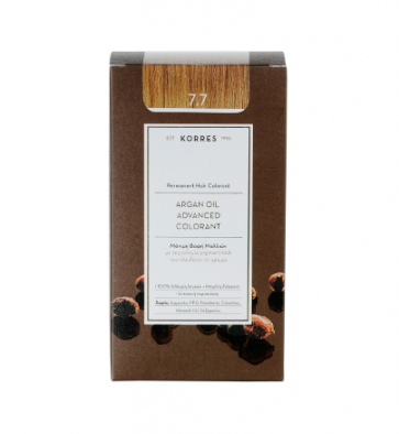 Korres Argan Oil Advanced Colorant 7.7 Μόκα by Korres
