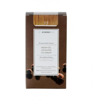 Korres Argan Oil Advanced Colorant 7.7 Μόκα by Korres