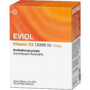 Eviol Vitamin D3 2200iu 55mcg