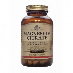Solgar Magnesium Citrate 200MG 120TAB