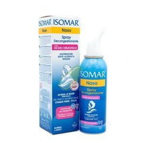 Isomar Nose Spray Decongestant With Hyaluronic Acid, Αποσυμφορητικό Ρινικό Spray με Υαλουρονικό Οξύ