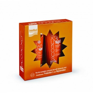 Luxurius Face Cream SPF50 75ml & Sunscreen Cream SPF30 200ml by Intermed