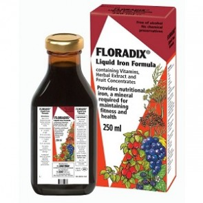 Power Health Floradix Συμπλήρωμα Διατροφής Για Την 'Ελλειψη Σιδήρου