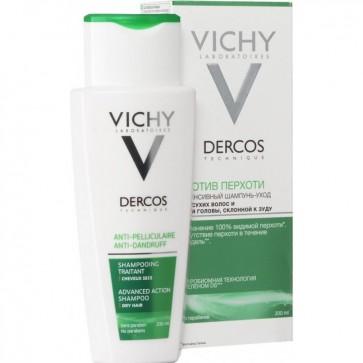 Vichy DERCOS Αντιπυτιριδικό σαμπουάν για Ξηρά μαλλιά by Vichy
