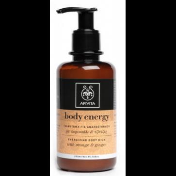 Apivita body energy γαλάκτωμα σώματος. by Apivita