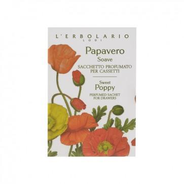 L'Erbolario Papavero Soave Sacchetto Profumato per Cassetti by L'Erbolario