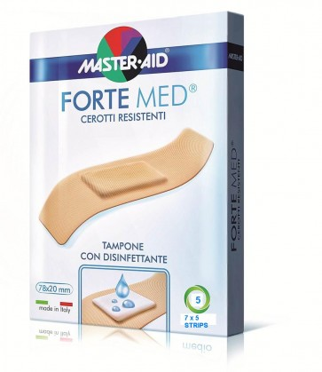 Master-Aid Fortemed 5 Strips 7x5cm by Master-Aid