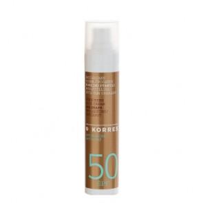 Korres Sunscreen Face Cream Red Grape SPF50