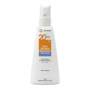 Frezyderm Sun Screen Clear Spray SPF20