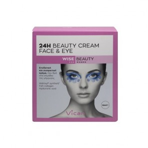 Vican Wise Beauty 24h Beauty Cream Face & Eye