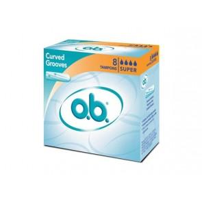 O.B. Super 8 Tampons