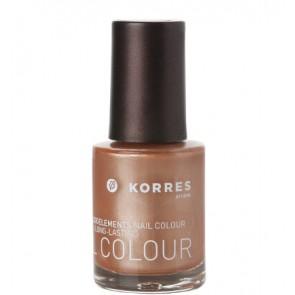 Korres Nail Colour Metallic Bronze 65