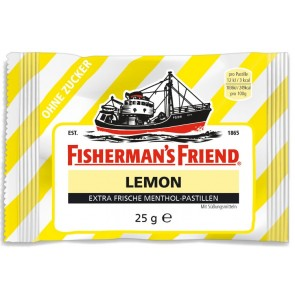 Fisherman's Friend Lemon Sugar Free