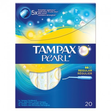 Tampax Regular Pearl 20 by Tampax