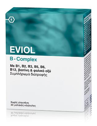 Eviol B-Complex 30 Caps by Eviol