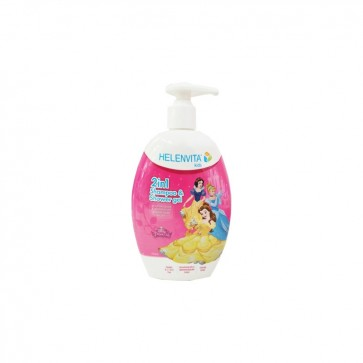 Helenvita Kids Princess 2 in 1 Shampoo & Shower Gel Ήπιο Σαμπουάν & Αφρόλουτρο by Pharmex