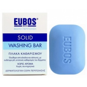 Eubos Blue Solid Washing Bar