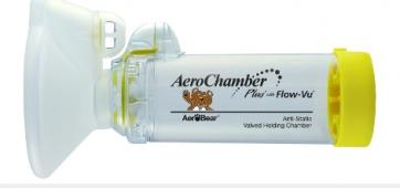 AeroChamber Plus Flow-Vu Medium Mask by AeroChamber