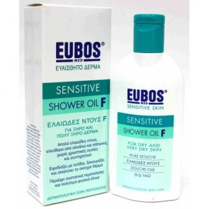 Eubos Green Sensitive Shower Oil F