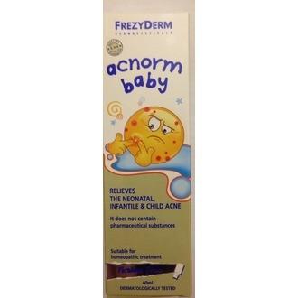 Frezyderm Acnorm Baby Απαλή Κρέμα για τη Νεογνική, Βρεφική & Παιδική Ακμή  by Frezyderm
