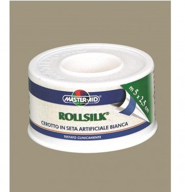 Master-Aid Rollsilk 5m x 5cm  by Master-Aid