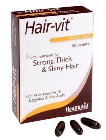 Health Aid Hair-Vit 30 by Health Aid
