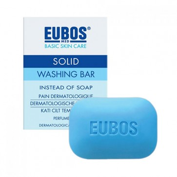 Eubos Solid Washing Bar Blue by Eubos