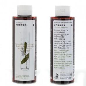 Korres Shampoo Laurel And Echinacea 1+1 Δώρο