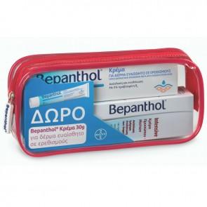 Bepanthol PROMO με Intensive Face - Eye Cream Κρέμα Προσώπου - Ματιών & ΔΩΡΟ Cream for Skin Prone to Irritations Κρέμα για Δέρμα Ευαίσθητο σε Ερεθισμούς σε Τσαντάκι