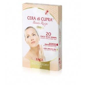 Cera Di Cupra Face Wax Strips