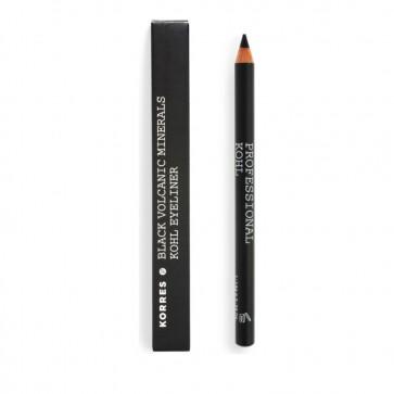 Korres Professional Kohl Eyeliner Σταθερό Αποτέλεσμα, Μαύρο 01, 0,04Fl. Oz. 1,14mL by Korres