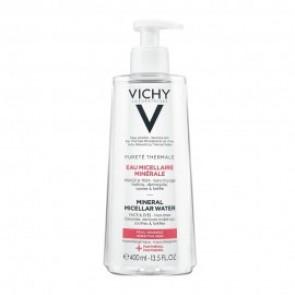 Vichy Purete Thermale Eau Micellar Minerale Water Καθαριστικό Νερό Ντεμακιγιάζ για Ευαίσθητη Επιδερμίδα 400ml