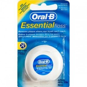 Oral-B Essential Floss Κηρωμένο
