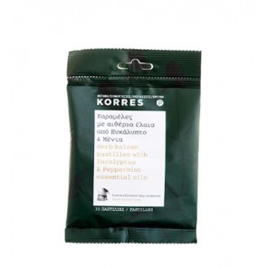 Korres Herb Balsam Pastilles With Eucalyptus & Peppermint