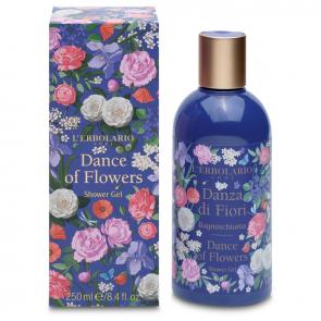 L'Erbolario Danza Di Fiori Shower Gel (Χορός των Λουλουδιών) 250ml