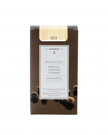 Korres Argan Oil Advanced Colorant 12.0 Ξανθό by Korres