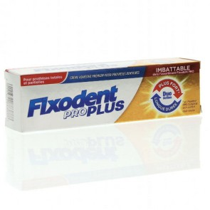 Fixodent Pro Plus Duo Action