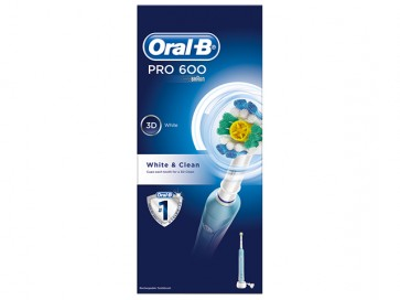 Oral-B Pro 600 White & Clean by Oral-B
