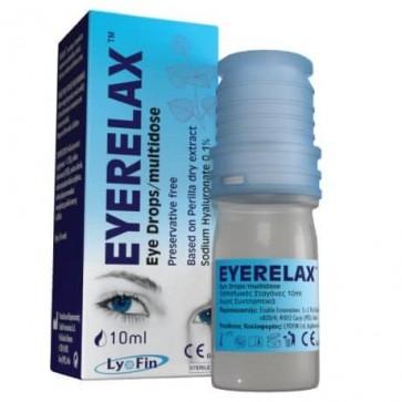 Eye Relax Οφθαλμικές Σταγόνες με Υαλουρονικό Νάτριο by LyoFin