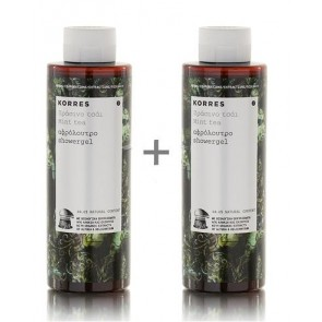 Korres Showergel Mint Tea 1+1 Δώρο
