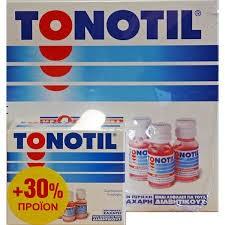 Tonotil + 3 Φιαλίδια Δώρο   by Tonotil