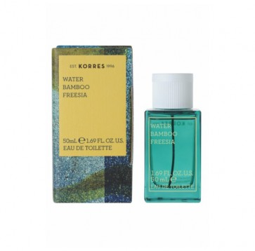 Korres Γυναικείο Άρωμα  Water Bamboo & Freesia Eau de Toilette by Korres