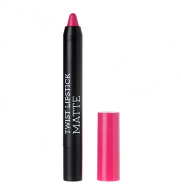 korres Raspberry Twist Lipstick Matte Dazzling Fuchsia by Korres