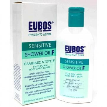 Eubos Green Sensitive Shower Oil F by Eubos