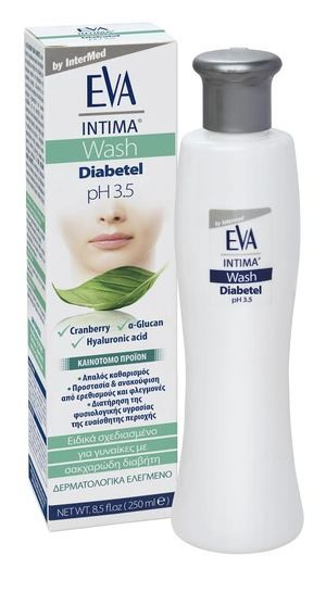 EVA Intima Wash Diabetel pH 3.5 by Eva