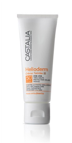 Castalia Helioderm Creme Teintee SPF 50 by Castalia