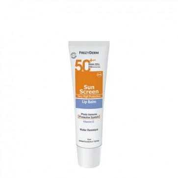 Frezyderm Sun Screen Lip Balm SPF50 by Frezyderm