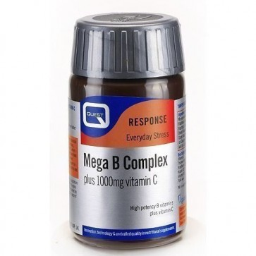 Mega B Complex Plus 1000mg C by Quest