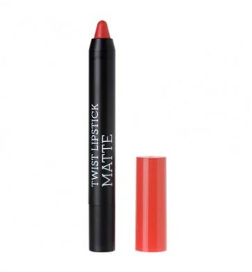 korres Raspberry Twist Lipstick Matte Tempting Coral by Korres